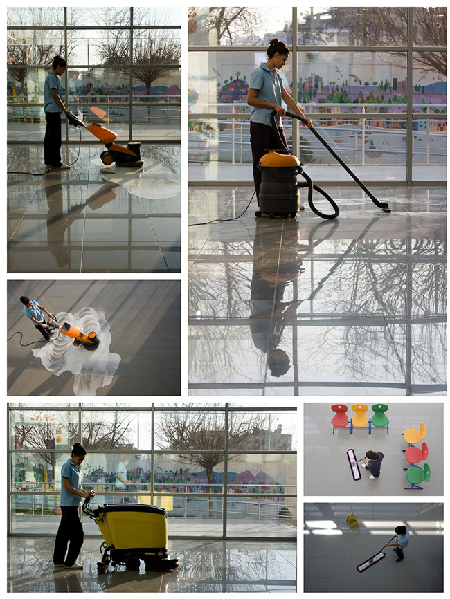 Cleaning Business Floors